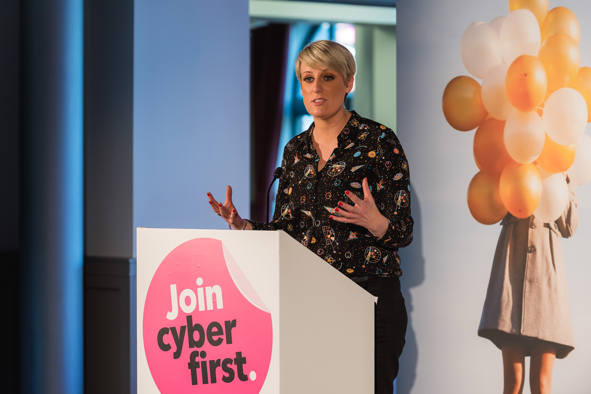 CyberFirst Girls Competition: Event photography