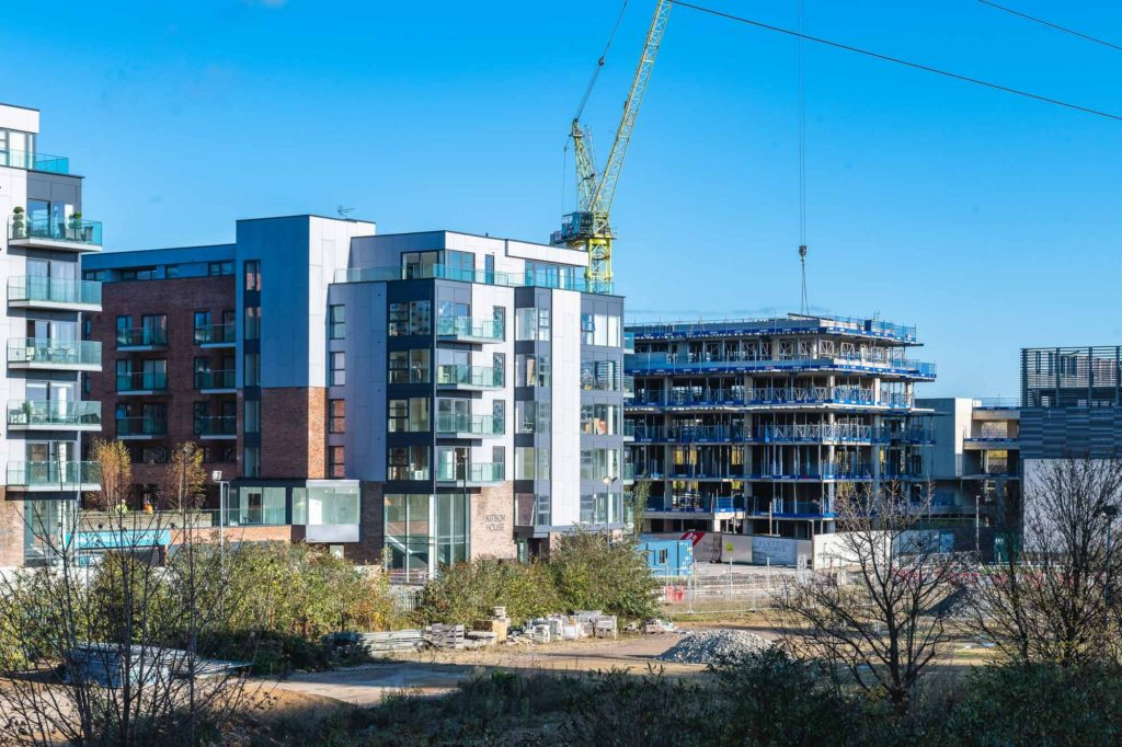 peterborough construction photographer fletton quays